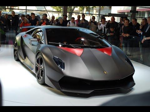 Lamborghini Veneno Vs Sesto Elemento