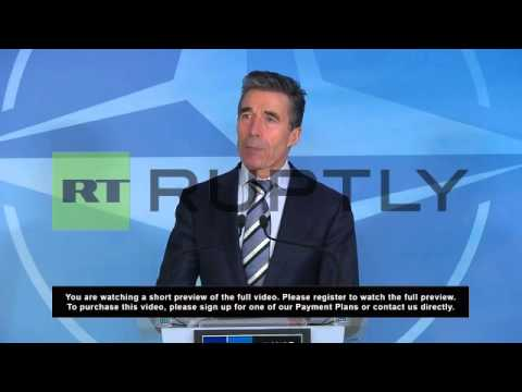 Belgium: Russia- withdraw your forces to its bases, Rasmussen