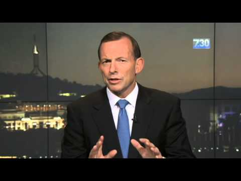 PM Tony Abbott says 'boats are stopping'