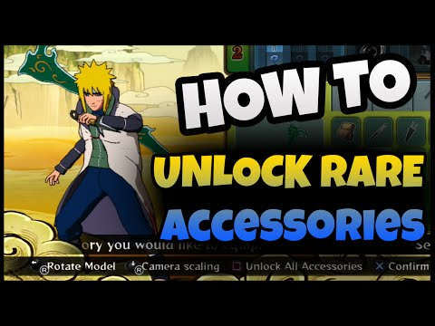 Naruto Storm Revolution How To Unlock New Rare Custom Item Accessories All
