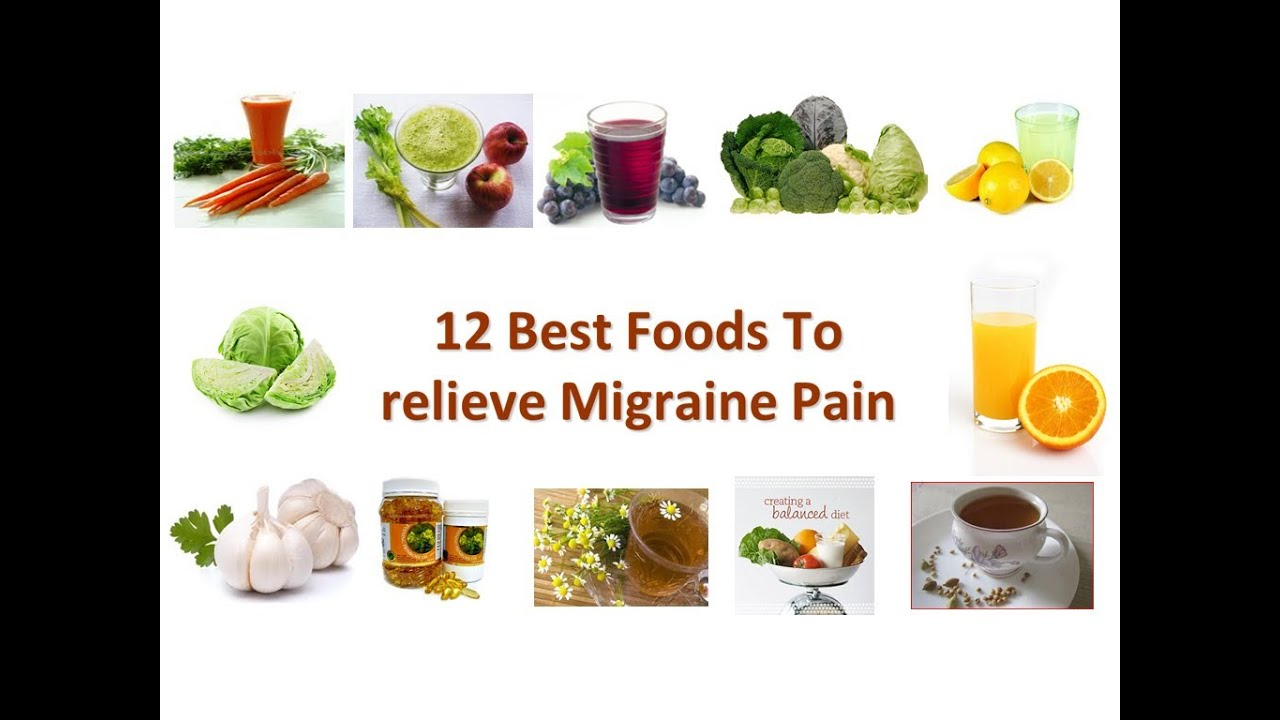 Best Foods To Get Rid Of Migraines
