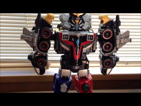 Review: Power Rangers Megaforce Lion Mechazord and Robo Knight Ranger