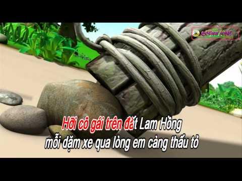 KARAOKE CHAO EM CO GAI LAM HONG