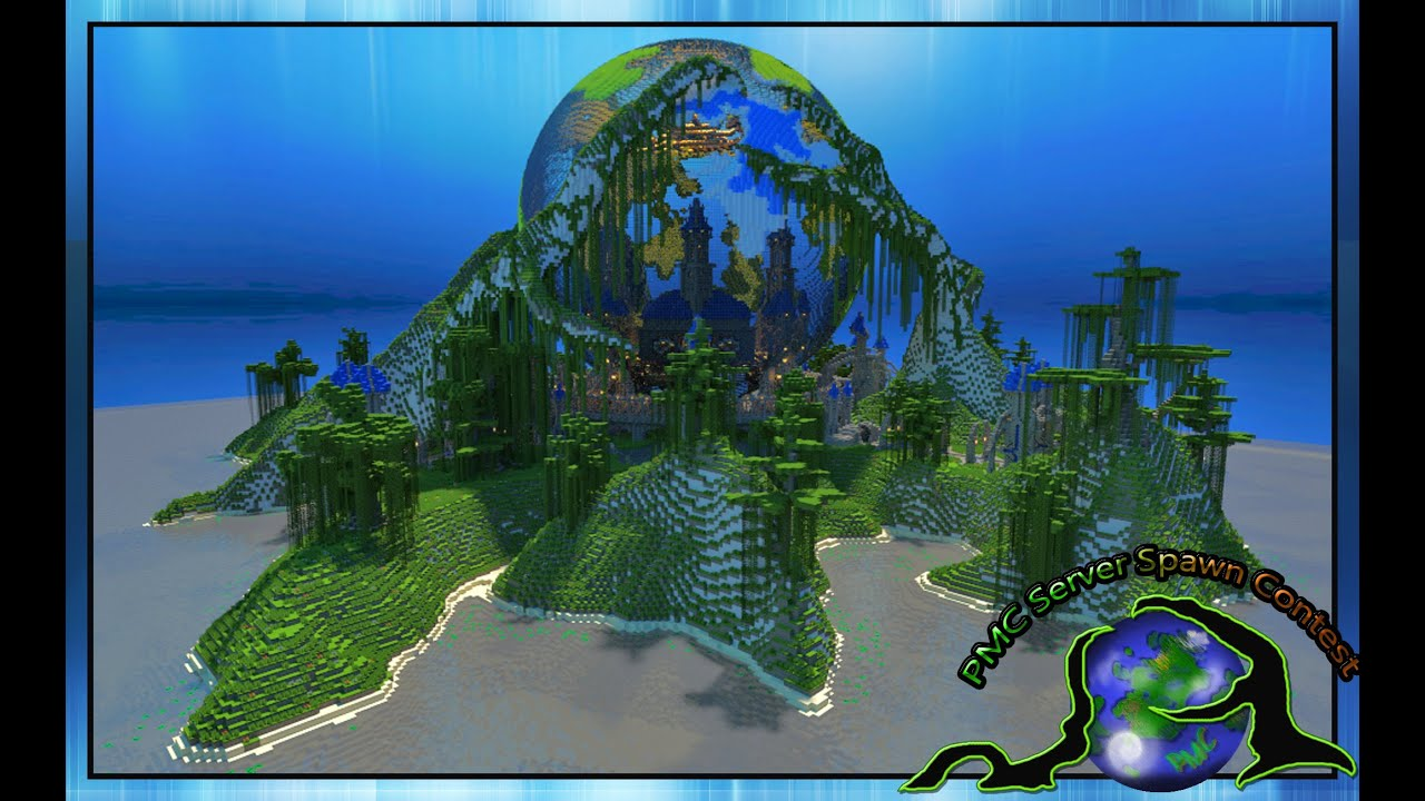 Minecraft cinematic pmc server spawn contest 2013 pmc map download