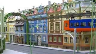 Modellbahn der Wuppertaler Schwebebahn