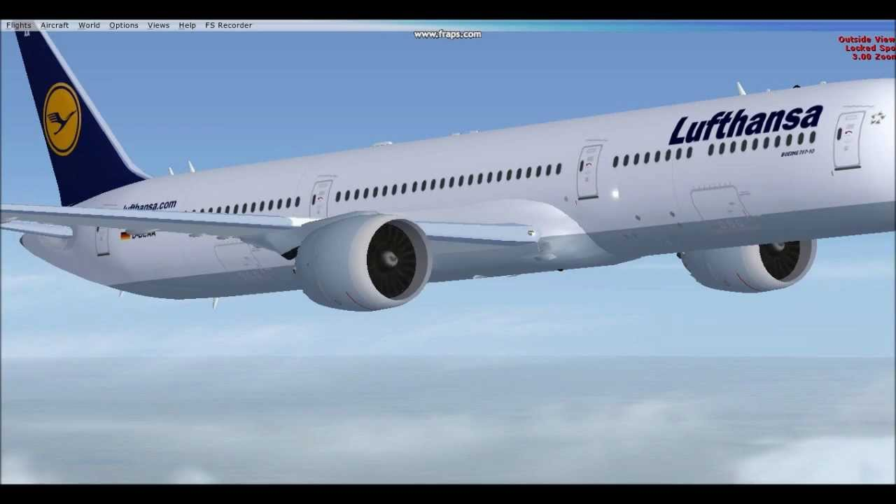 Boeing 787 10 at 60 000 ft youtube