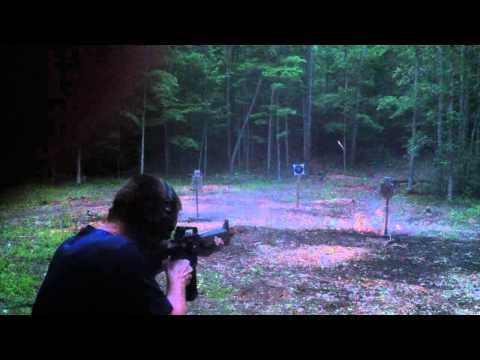 Bushmaster AR-15 dusk