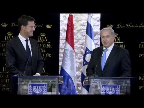 PM Netanyahu Meets Dutch Prime Minister Mark Rutte