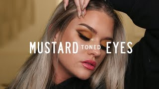 MUSTARD TONED EYES | Samantha Ravndahl