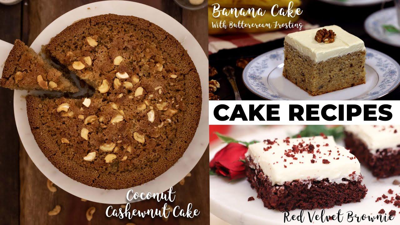 3 Unique Cake Recipes   Cake Recipes