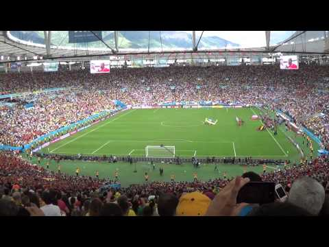 Belgium 1 x 0 Russia (Fifa Word Cup Brazil 2014) - National Anthems
