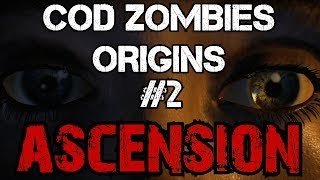 CoD Zombies Easter Egg Origins - Ascension: Activating the Buttons & the Lunar Landers (Part 2)