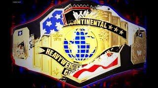 WWE UNITED STATES INTERCONTINENTAL CHAMPIONSHIP UNIFICATION
