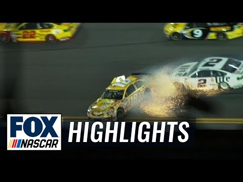 Kyle Busch Makes an Amazing Save - Sprint Unlimited - 2014 NASCAR Sprint Cup