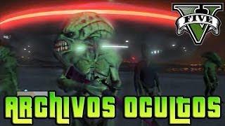 GTA V Online - Archivos Ocultos - Planetas Extraños, Aliens, Naves Espaciales Online - NexxuzHD