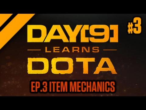 Day[9] Learns Dota - 3. Item Mechanics (Lesson w/ coach Purge)