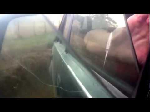Holden V6 VL Burnout