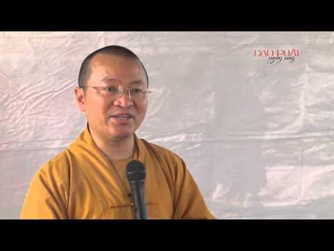 Ước nguyện, cầu nguyện, chí nguyện và hạnh nguyện (02/10/2013)  video do TT Thích Nhật Từ giảng