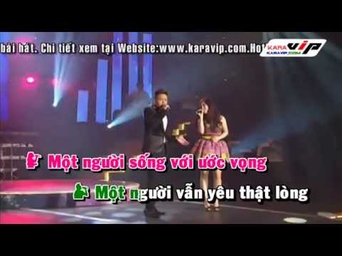 [KARAOKE] HD Se Co Nguoi Can Anh - Cao Thai Son ft Huong Tram Full Beat