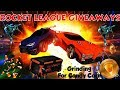 Insane Rocket League Giveaways Every 10 subs Halloween Crate Openings and Subs Games