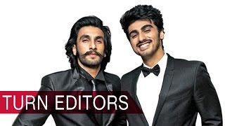 Arjun Kapoor and Ranveer Singh turn editors for an award show Bollywood News