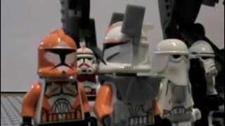 Lego Clone Wars 501st Legion-The Lone Clone (Fan Movie