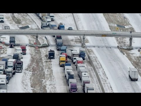 Extreme Winter Weather: Deep Freeze Hits US, Causes Massive Pile-Ups