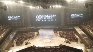 EXO台北演唱會2015 - 退場的中文歌time YouTube 影片