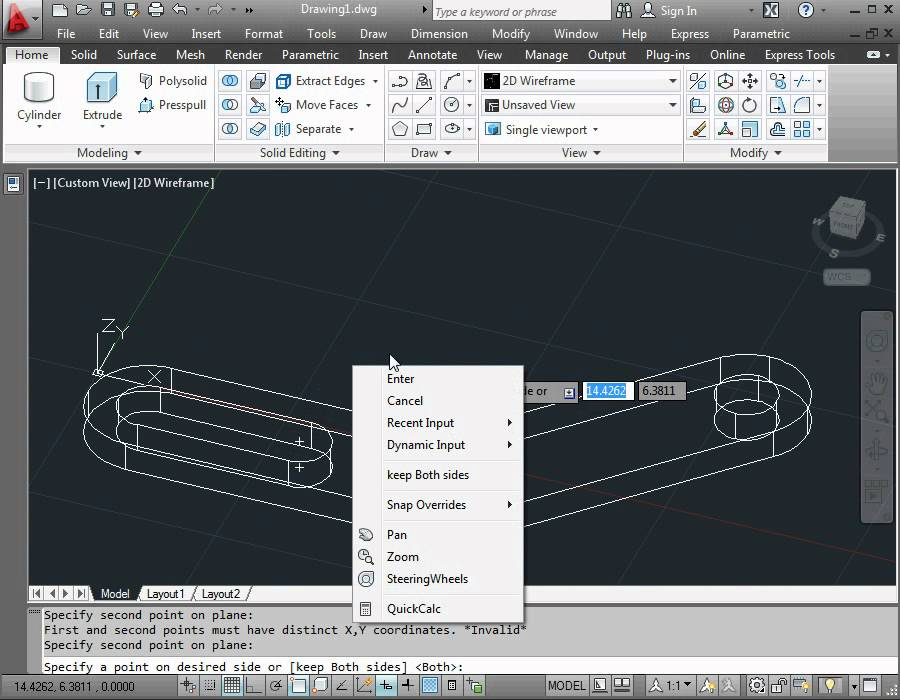 Autocad 2012 Video Tutorial Basic Training How To Use