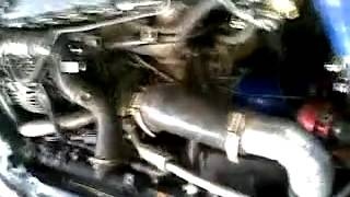 Turbo and Blow Off Valve Sounds  300 hp engine