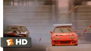 The Fast And The Furious (10/10) Movie CLIP Brian Races