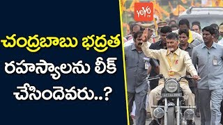 Who Leaked Chandrababu Security Secrets..?..