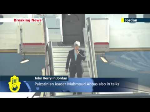 US diplomat Kerry in Jordan for peace talks