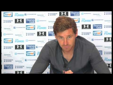 Tottenham vs Manchester Utd - Andre Villas-Boas Pre Match Interview