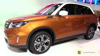 2015 Suzuki Vitara Exterior And Interior Walkaround
