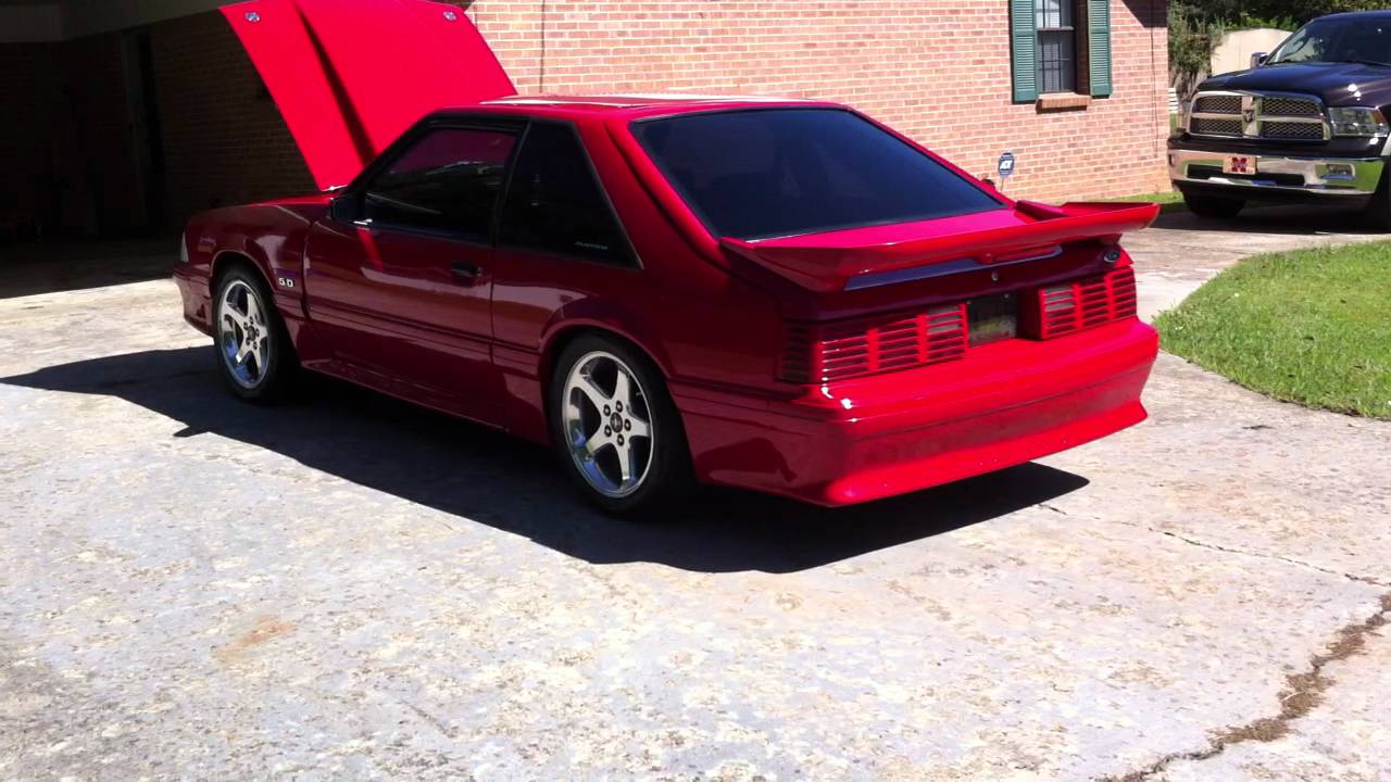 90 mustang gt youtube
