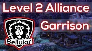 NEW Level 2 Alliance Garrison Walkthrough! Warlords Of