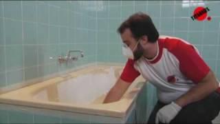 Como esmaltar la bañera