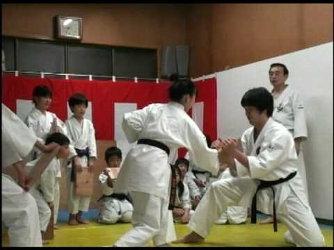 試し割り 板目6分板Wado-kai Edogawa branch Karate symposium Trial dividing board 1.8m