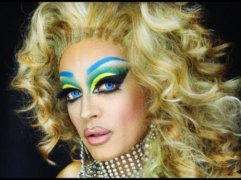 BRAZIL WORLD CUP DRAG QUEEN MAKEUP TEASER