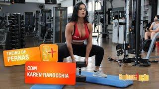Karen Ranocchia - Agachamento sumô
