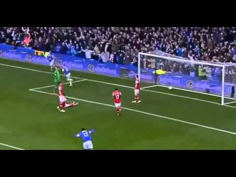 Everton VS Arsenal 3 0 2014 All Goals & Highlights 06 04 2014 HD1