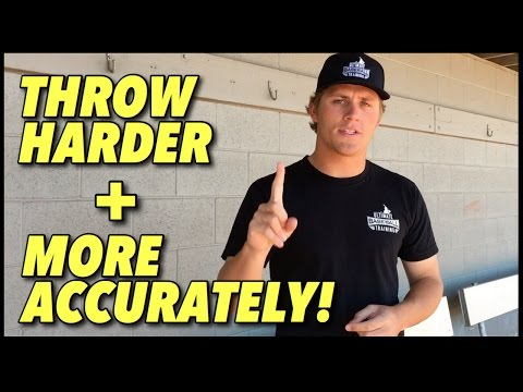 5 Tips on How to Throw a Baseball Harder & More Accurately - Baseball Throwing Tips