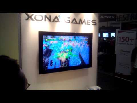 Duality ZF - GDC 2013 - 4 Player Gameplay