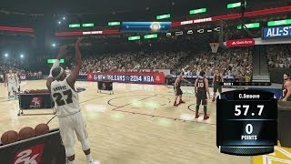 NBA 2K14 PS4 My Career 3 Point Contest