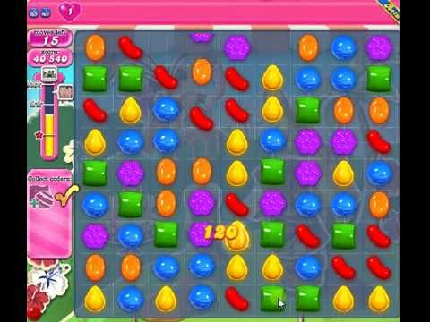 How to beat Candy Crush Saga Level 195 - 3 Stars - No Boosters - 93