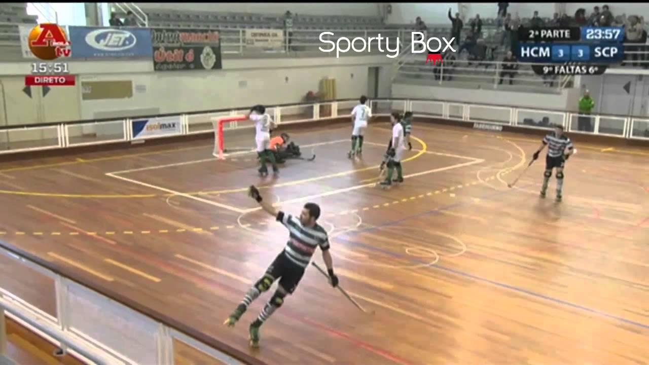 Hoquei Patins :: 22J ::Mealhada - 6 x Sporting - 7 de 2013/2014