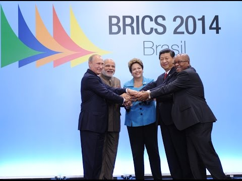 PM Narendra Modi with BRICS Leaders