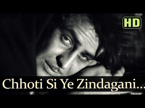 Chhoti Si Yeh Zindagani - Raj Kapoor - Aah - Mukesh - Shankar Jaikishan - Evergreen Hindi Songs