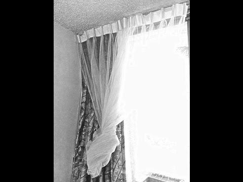 Como hacer una cortina de pliegues Facil.